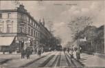 AK Duisburg Königstrasse viele Menschen 1910 Sammlerstück