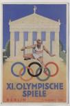 AK Berlin Olympische Spiele Österreich Olympia Fond Sonderausgabe Sonderstempel 1936 RAR