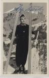 AK Foto Oberstdorf im bayr. Allgäu Ski-Flug-Schanze Sepp Weiler orig. Autogramm 1957 RAR