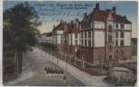 VERKAUFT !!!   AK Schwerin Kaserne des Grenadier-Regiments Soldaten im Marsch Feldpost 1916 RAR