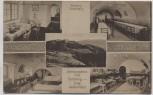 AK Festung Silberberg Erholungsheim Fort Spitzberg-Jungdeutschland Stoszowice Eulengebirge Schlesien Polen Feldpost 1916 RAR