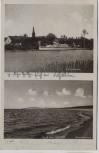 AK Gruss aus Pritter Strompartie Ostseestrand Przytór b. Swinemünde Świnoujście Pommern Polen 1934