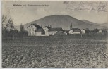 AK Wünheim mit Hartmannsweilerkopf Thann-Guebwiller Haut-Rhin Elsass Frankreich Feldpost 1916