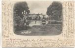 AK Gruss aus Wiesbaden Kursaalplatz 1897