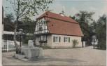 AK Dresden 3. Deutsche Kunstgewerbe-Ausstellung Einfamilienhaus Sonderstempel 1906