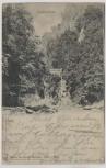 AK Thale / Harz Teufelsbrücke 1903