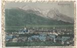 AK Garmisch-Partenkirchen Gesamtansicht 1902