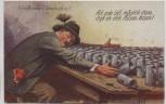 Künstler-AK Gruß vom Oktoberfest Mann betrunken viel Bier 1930