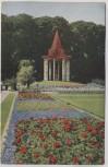 AK Foto Stuttgart Offizielle Postkarte Nr. 15 Württbg. Gartenbauaustellung Der Ausstellungstempel 1924