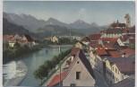 AK Füssen am Lech Blick gegen Süden 1920