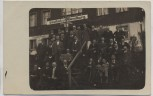VERKAUFT !!!   AK Foto Schreiberhau Gasthof zur Abendburg Gruppenbild Riesengebirge Schlesien Szklarska Poręba Polen 1930