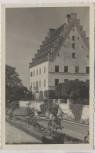 AK Foto Babenhausen (Schwaben) Am Fuggerschloss 1940