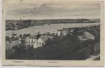 AK Flensburg Aussenhafen Hafen 1914
