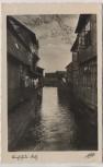 AK Foto Buxtehude Fleth Seitenarm 1940