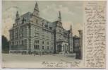 VERKAUFT !!!   AK Bremen Stadtbibliothek 1902