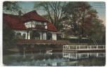 AK Düsseldorf Fischerhaus mit Schwanenspiegel 1912