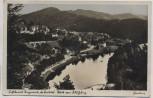 AK Foto Luftkurort Ziegenrück ob. Saaletal Blick vom Schloßberg 1938