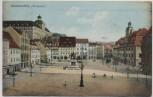 AK Weissenfels Marktplatz mit Denkmal und Schloss 1912