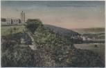 AK Naumburg und Schulpforta Blick auf den Bismarckturm 1916