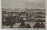 AK Lindenberg im Allgäu Ortsansicht 1952