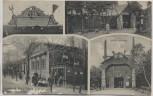 AK Thale Restaurant Walpurgis Hexentanzplatz Brocken 1918