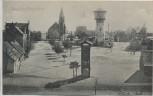 AK Gruss aus Sandersdorf Kirche Turm Ortsansicht b. Brehna Kr. Bitterfeld 1912