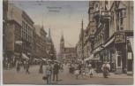 AK Magdeburg Breiteweg viele Menschen Hirte Kaffee 1926