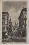 AK Magdeburg Blick auf Rathaus und Johannis-Kirche 1921