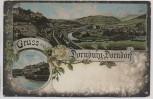 AK Gruss aus Dornburg Dorndorf Ortsansicht b. Dornburg-Camburg 1910