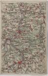 AK Wona-Karte 868 Pössneck mit Kahla Lobeda Orlamünde 1920