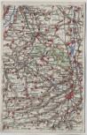 VERKAUFT !!!   AK Wona-Karte Altenburg mit Meuselwitz Regis Lucka Groitzsch 1920
