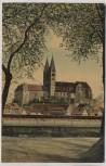 VERKAUFT !!!   AK Quedlinburg Schloss vom Brühl gesehen 1909