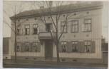 VERKAUFT !!!   AK Foto Quedlinburg Hausansicht mit Menschen Holzfassade 1910 RAR