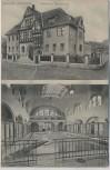 VERKAUFT !!!   AK Quedlinburg Städtische Badeanstalt Haus Innenansicht 1908 RAR