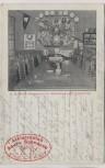 VERKAUFT !!!   AK Halberstadt Naeter's Weinrestaurant zur Martinsklause Athletenclub Saure Schnauze 1913 RAR