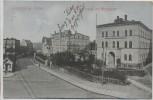 VERKAUFT !!!   AK Waldenburg in Schlesien Freiburgerstrasse mit Amtsgericht Wałbrzych Polen 1910