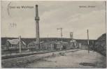 AK Gruss aus Weferlingen Kaliwerk Walbeck mit Bahngleis b. Oebisfelde 1910 RAR