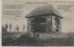 AK Lutherstein auf dem Papenbrink Gedicht b. Bückeburg 1912