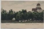 AK Lenzen Elbe Panorama mit Burg und Kirche viele Kinder 1910