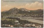 AK Siebengebirge und Drachenfels b. Königswinter Bad Honnef 1910