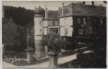 AK Foto Burg Gudenau mit Statuen b. Wachtberg Villip 1938