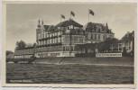 AK Bad Godesberg Rheinhotel Dreesen mit Fahnen 1940