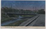 AK Neunkirchen an der Blies Partie an der Bliesbrücke Saarland 1911 RAR