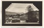AK Reichsführerschule Tölz Blick aus dem Fenster 1935 RAR