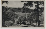 AK Foto Pirmasens Blick vom Kugelfelsen auf den Eisweiher Feldpost 1942