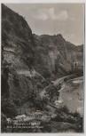 AK Foto Oberstein a. d. Nahe Blick auf die Gefallenen Felsen Feldpost 1939