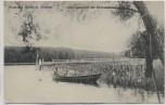 AK Gruss aus Nedlitz b. Potsdam Landungsbrücke zur Römerschanze 1910
