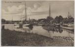 AK Aurich Am neuen Hafen viele Schiffe 1910 RAR