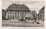 AK Lindau am Bodensee Bayern Marktplatz mit Kawatzen Autos 1940