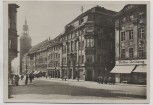 AK Foto Bautzen Innere Lauenstrasse mit Lauenturm 1940